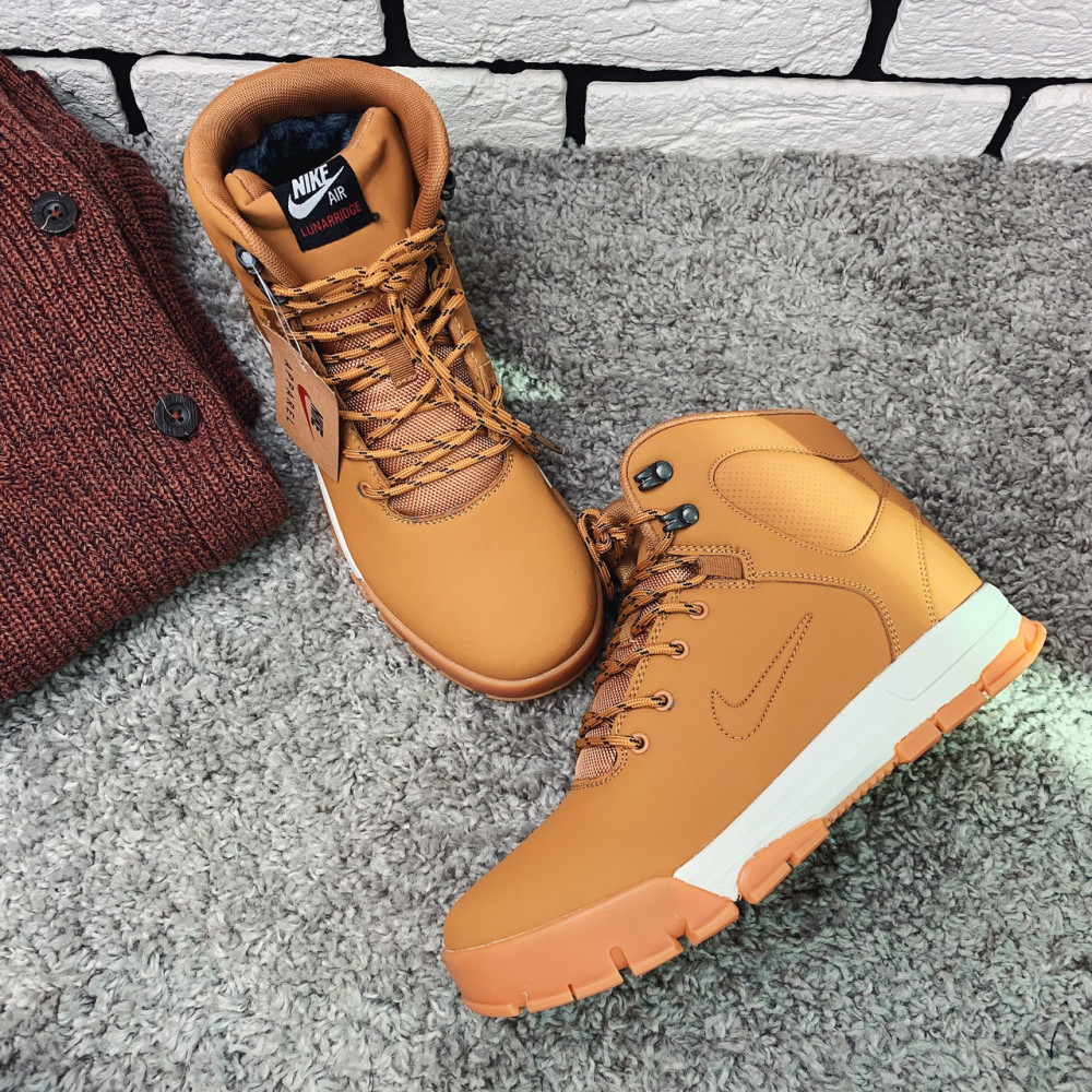 Мужские ботинки зимние - Зимние ботинки (на меху)  мужские Nike Air Lunarridge  1-137 ⏩ [ 42 последний размер ] 3