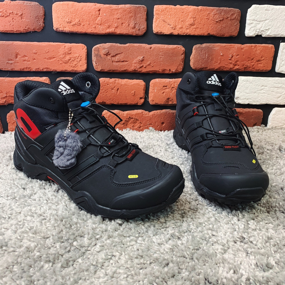 Мужские ботинки зимние - Зимние ботинки (на меху) мужские Adidas Terrex  3-078⏩ [44,46 ] 5
