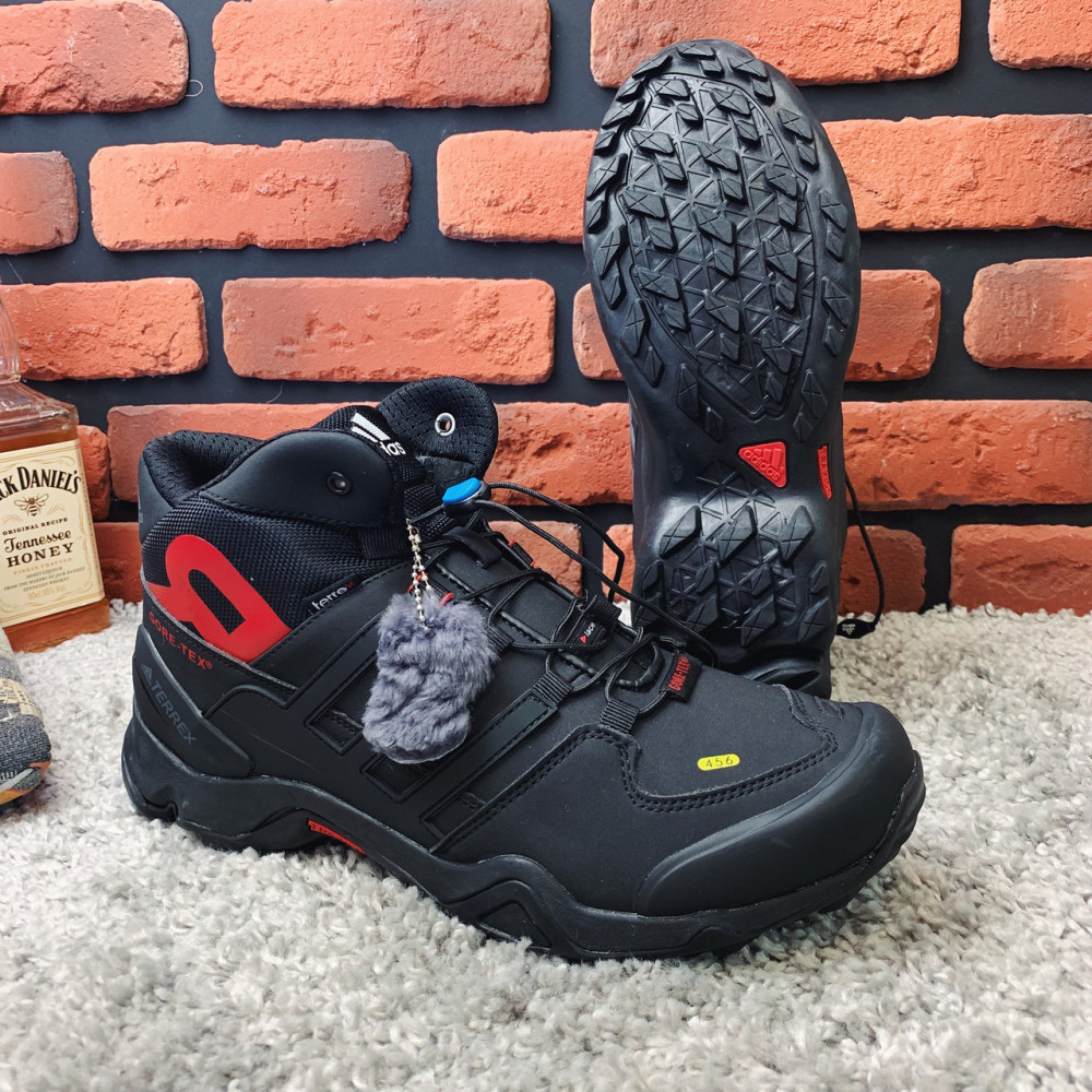Мужские ботинки зимние - Зимние ботинки (на меху) мужские Adidas Terrex  3-078⏩ [44,46 ] 1