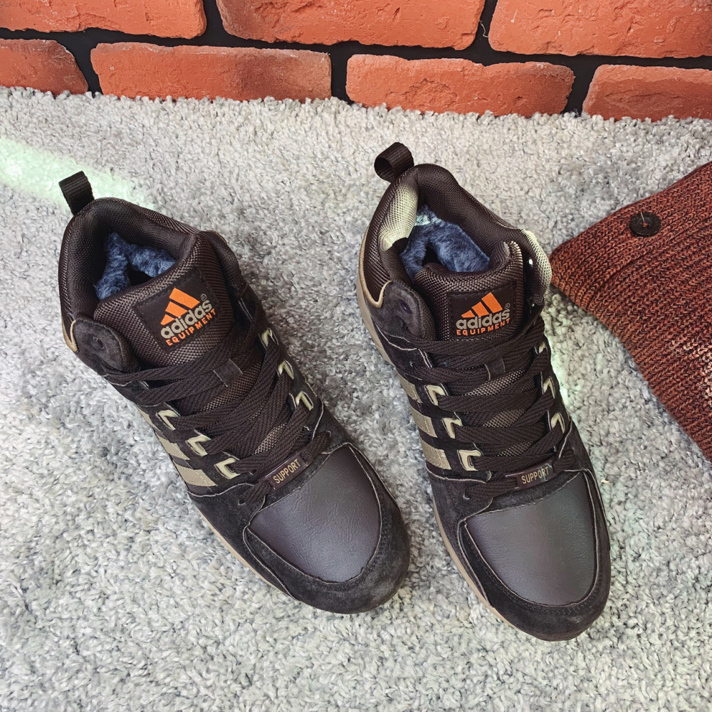 Мужские ботинки зимние - Ботинки мужские Adidas Equipment 3-080 ⏩ [ 44.46 ] 1