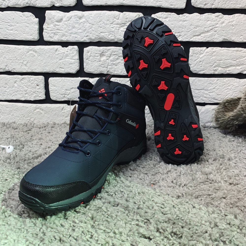 Мужские ботинки зимние - Зимние ботинки (на меху) мужские Columbia (реплика) 12-090 ⏩ [44 ] 4