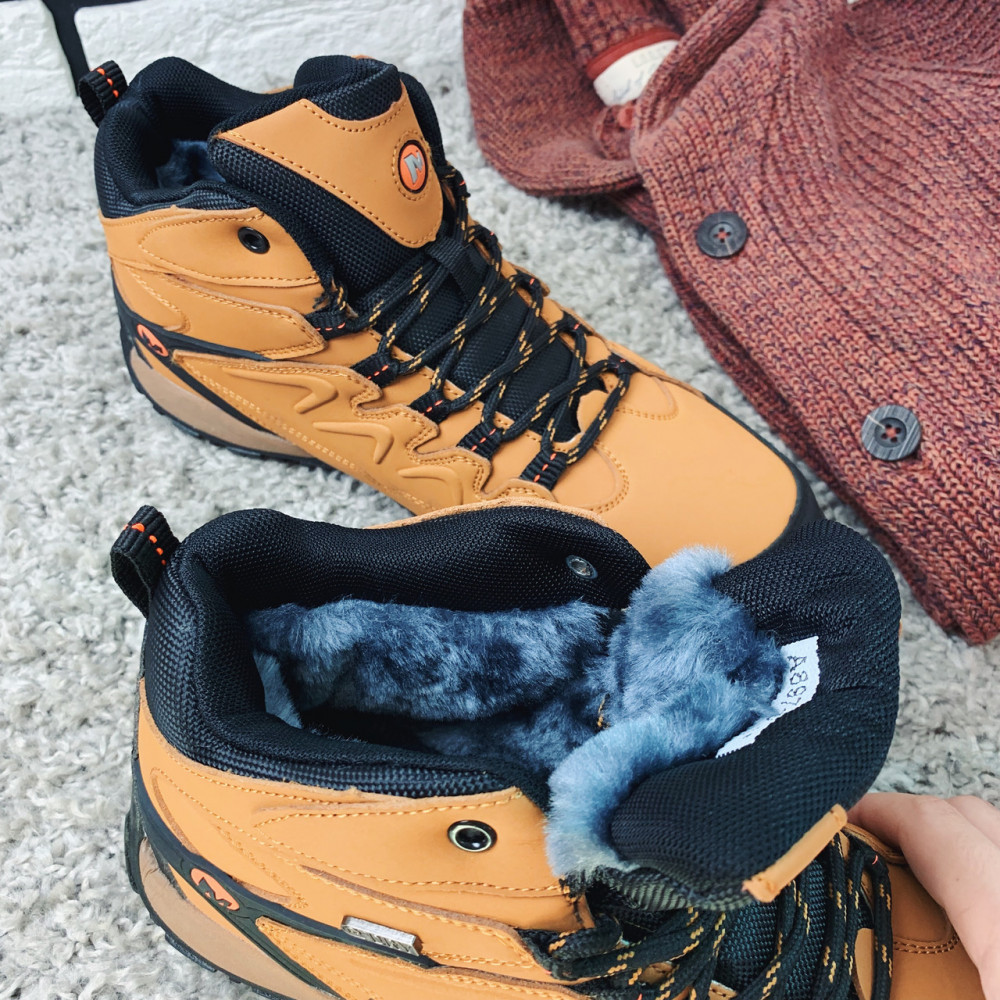 Зимние кроссовки мужские - Зимние кроссовки (на меху) мужские Merrell  14-077 ⏩ [46 последний размер] 7