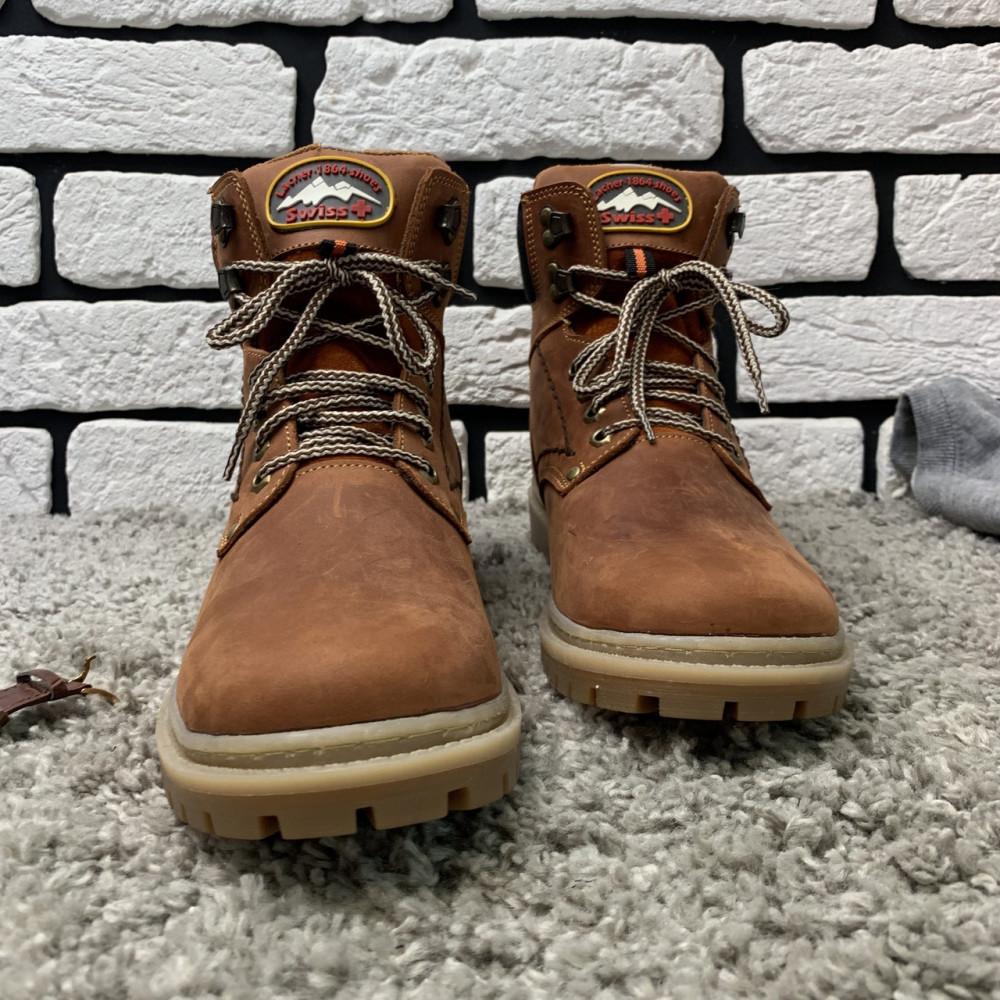 Мужские ботинки зимние - Зимние ботинки (на меху) мужские Switzerland 13025 ⏩ [ 41,42,43,45 ] 6