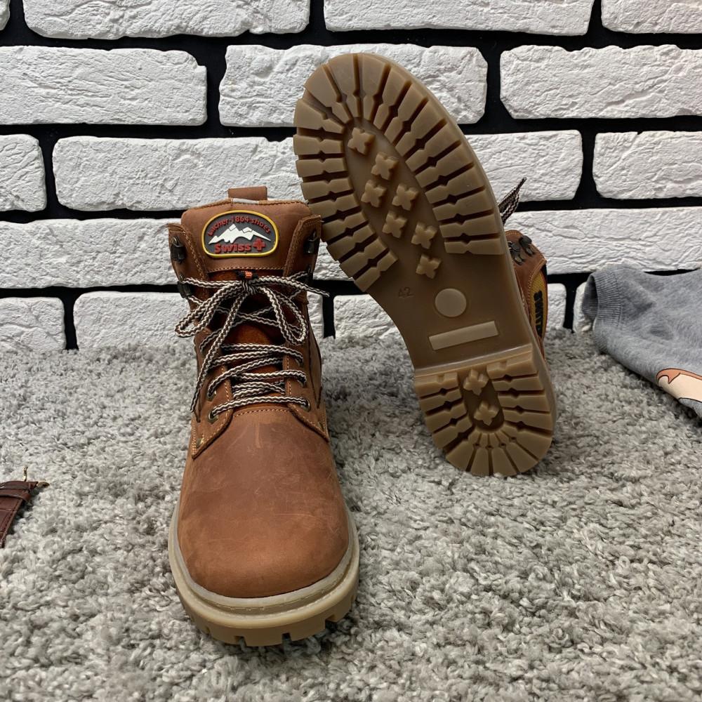 Мужские ботинки зимние - Зимние ботинки (на меху) мужские Switzerland 13025 ⏩ [ 41,42,43,45 ] 5