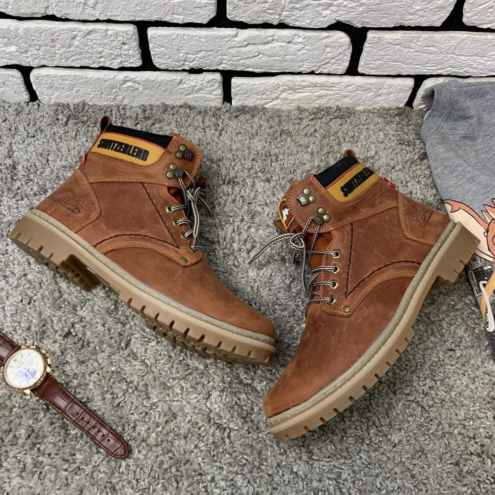 Мужские ботинки зимние - Зимние ботинки (на меху) мужские Switzerland 13025 ⏩ [ 41,42,43,45 ] 3