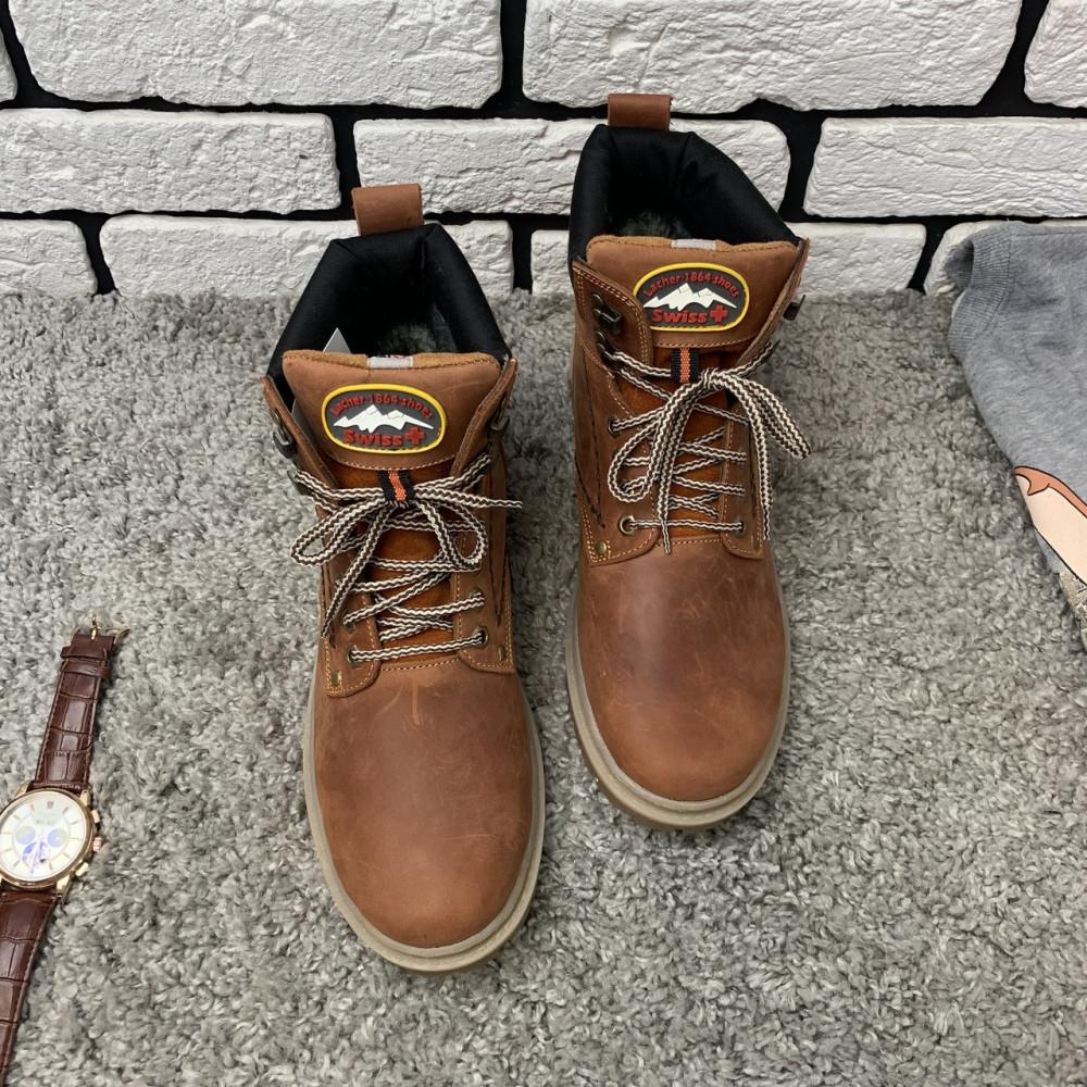 Мужские ботинки зимние - Зимние ботинки (на меху) мужские Switzerland 13025 ⏩ [ 41,42,43,45 ] 2