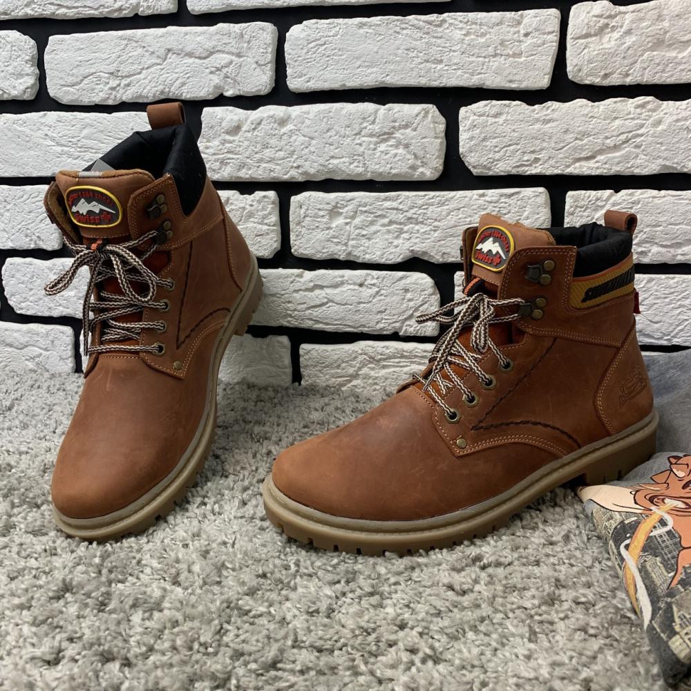 Мужские ботинки зимние - Зимние ботинки (на меху) мужские Switzerland 13025 ⏩ [ 41,42,43,45 ] 1