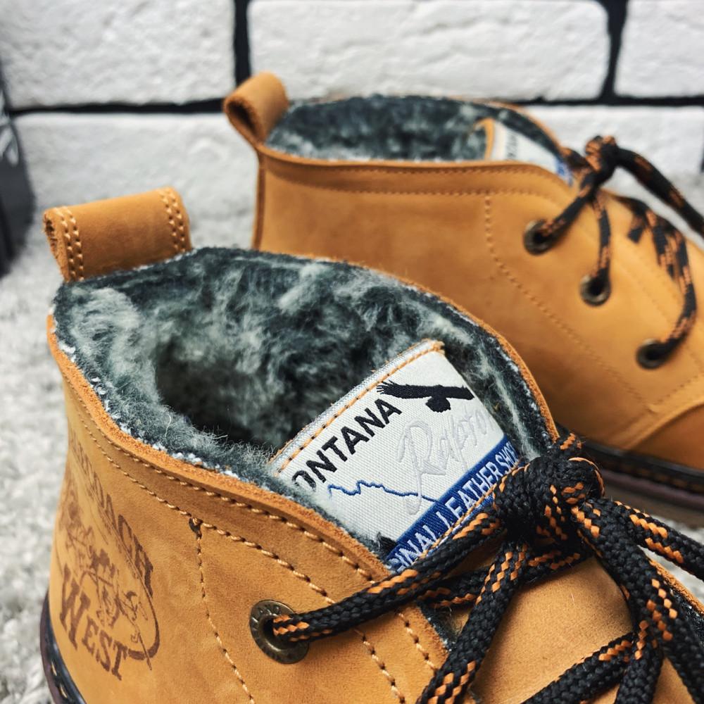 Мужские ботинки зимние - Зимние ботинки (на меху) мужские Montana 13026 ⏩ [ 41,42,43,] 7