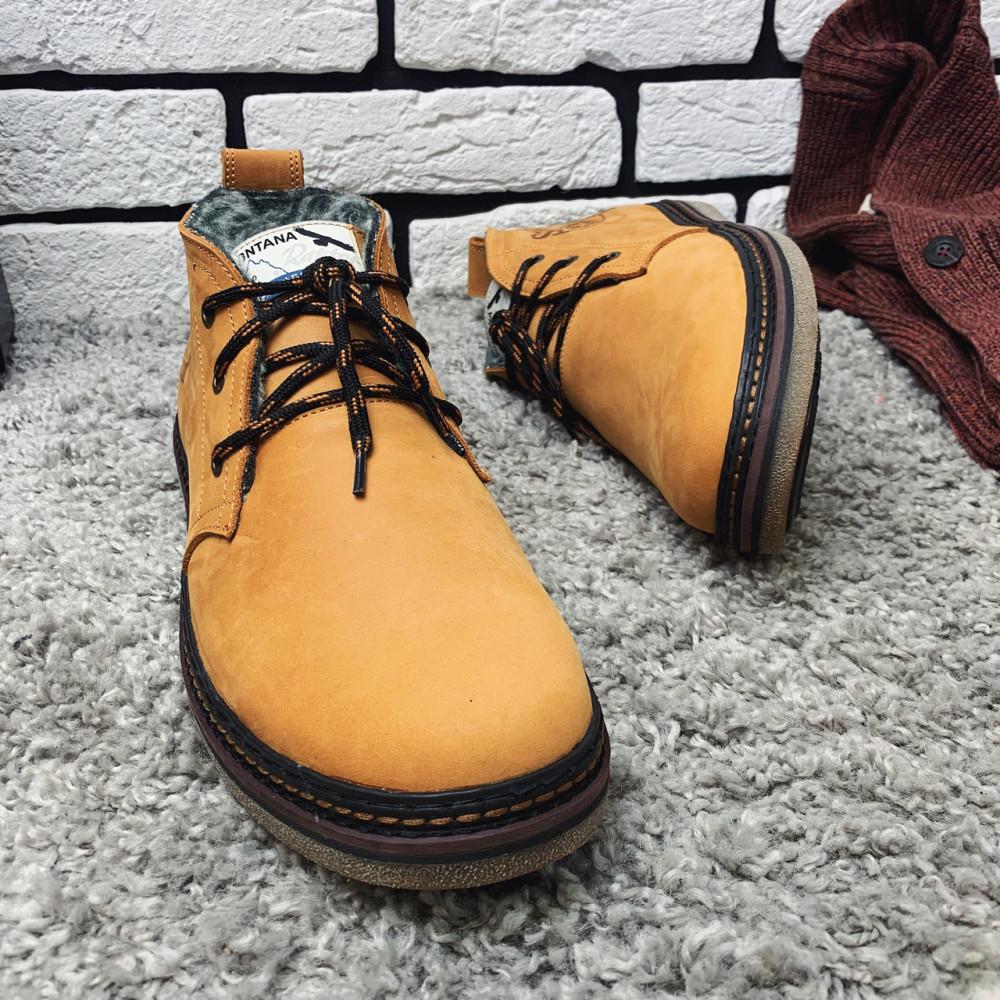 Мужские ботинки зимние - Зимние ботинки (на меху) мужские Montana 13026 ⏩ [ 41,42,43,] 6