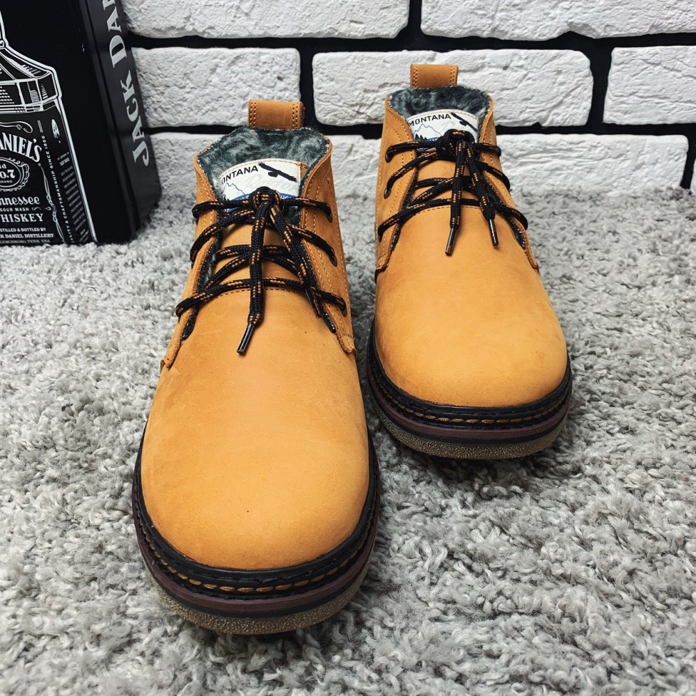 Мужские ботинки зимние - Зимние ботинки (на меху) мужские Montana 13026 ⏩ [ 41,42,43,] 5