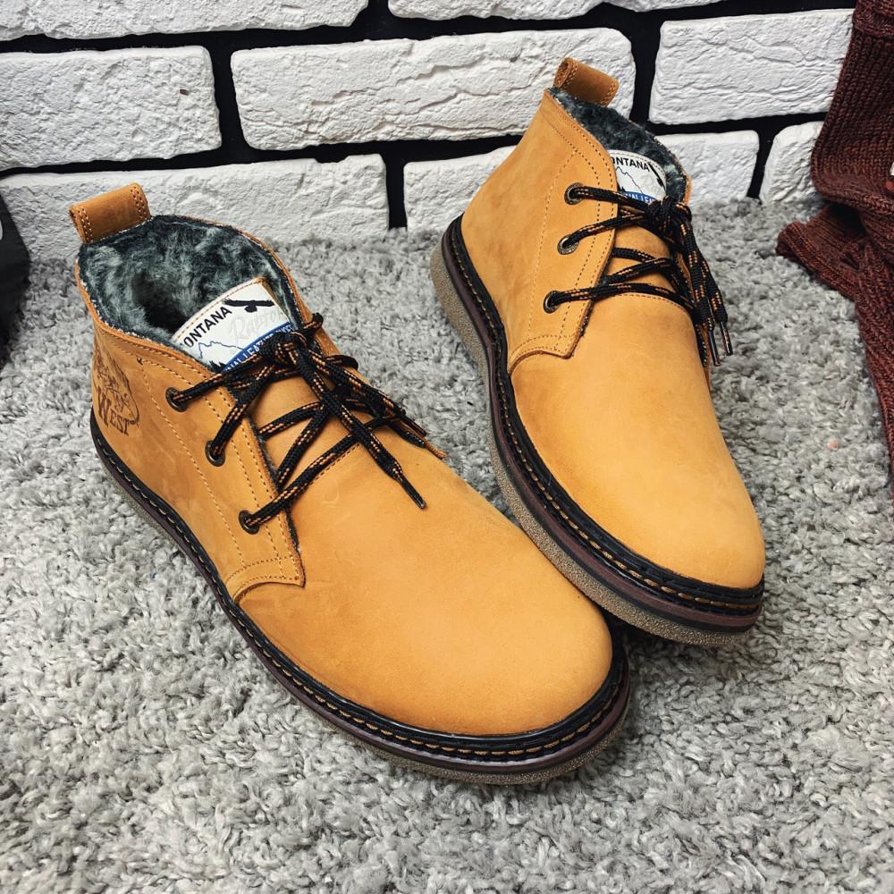 Мужские ботинки зимние - Зимние ботинки (на меху) мужские Montana 13026 ⏩ [ 41,42,43,] 2
