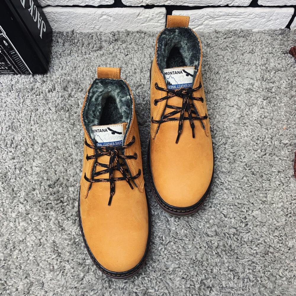 Мужские ботинки зимние - Зимние ботинки (на меху) мужские Montana 13026 ⏩ [ 41,42,43,] 1
