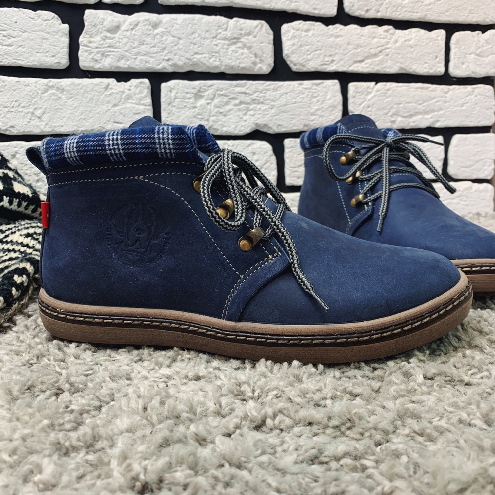 Мужские ботинки зимние - Зимние ботинки (на меху) мужские Switzerland 13030 ⏩ [ 41,42 ]