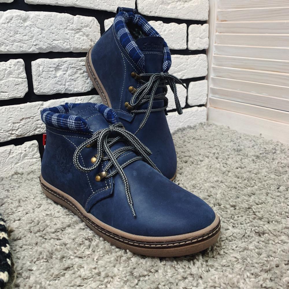 Мужские ботинки зимние - Зимние ботинки (на меху) мужские Switzerland 13030 ⏩ [ 41,42 ] 6