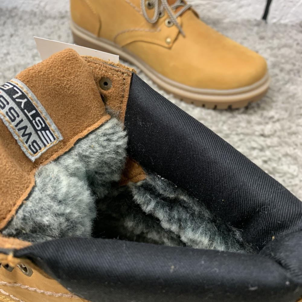 Мужские ботинки зимние - Зимние ботинки (на меху) мужские Switzerland  13032 ⏩ [ 41,43,45 ] 8