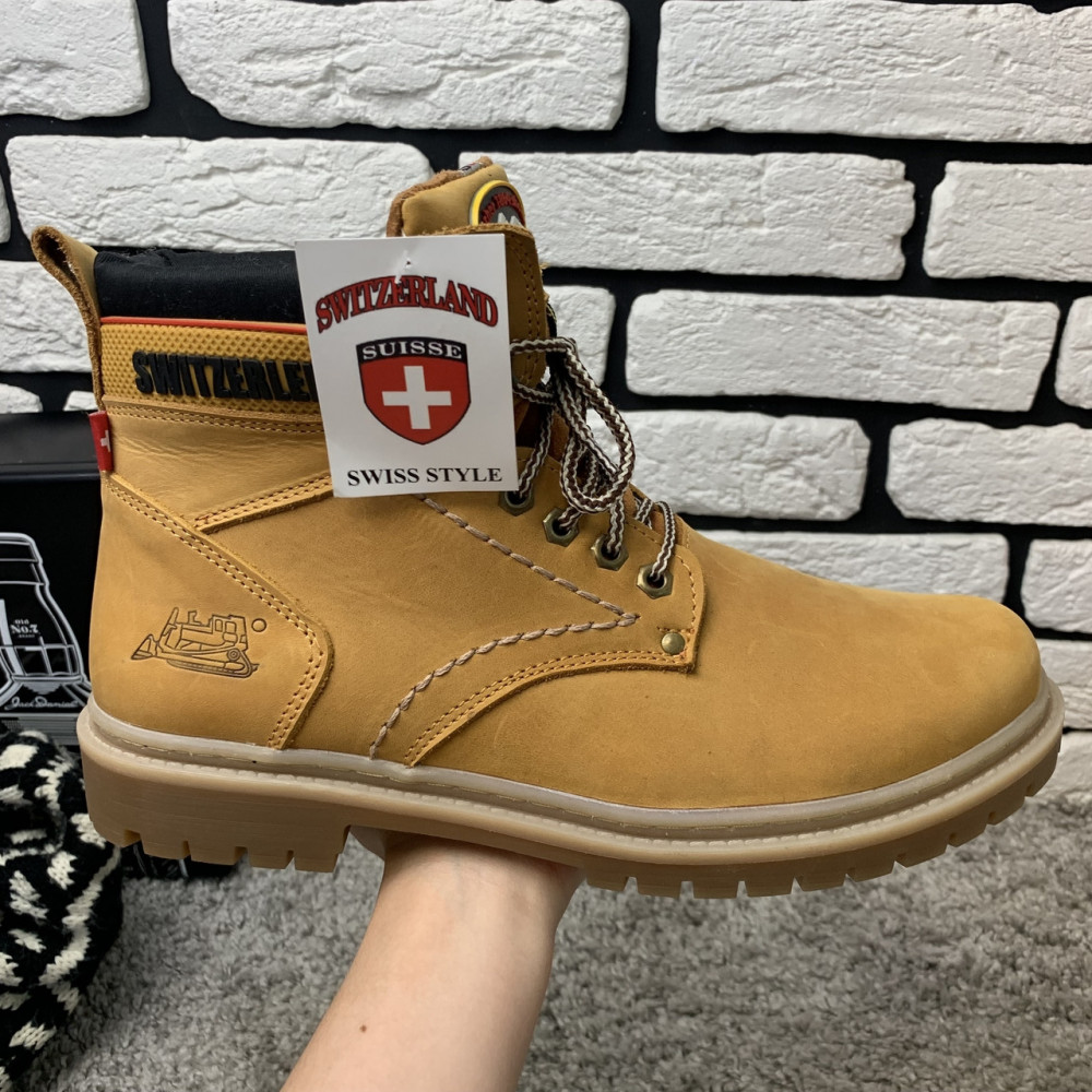 Мужские ботинки зимние - Зимние ботинки (на меху) мужские Switzerland  13032 ⏩ [ 41,43,45 ] 7