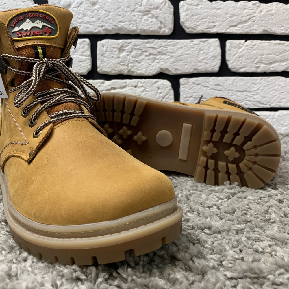 Мужские ботинки зимние - Зимние ботинки (на меху) мужские Switzerland  13032 ⏩ [ 41,43,45 ] 6