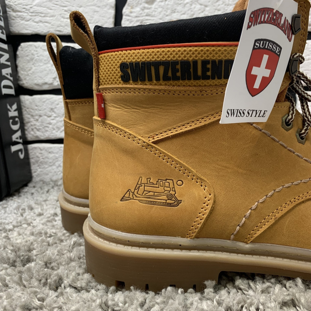 Мужские ботинки зимние - Зимние ботинки (на меху) мужские Switzerland  13032 ⏩ [ 41,43,45 ] 3