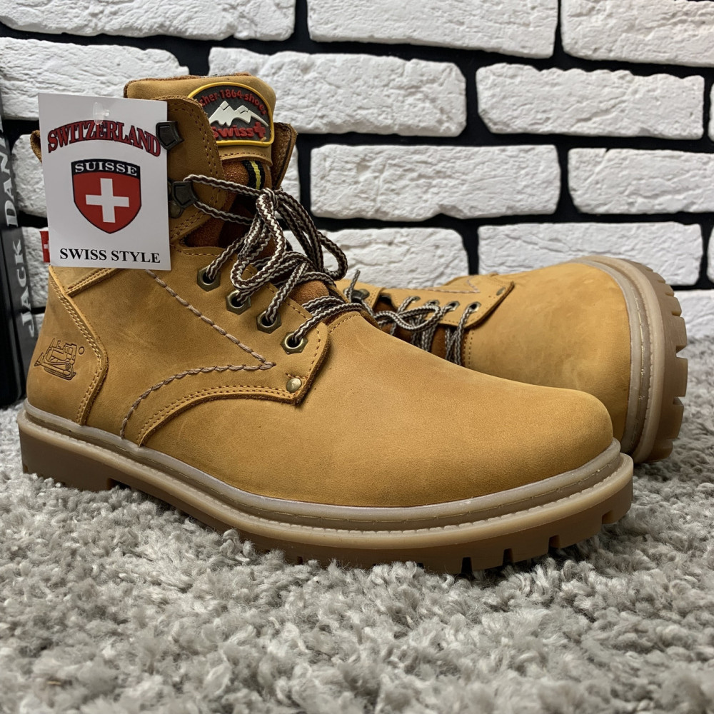Мужские ботинки зимние - Зимние ботинки (на меху) мужские Switzerland  13032 ⏩ [ 41,43,45 ] 4