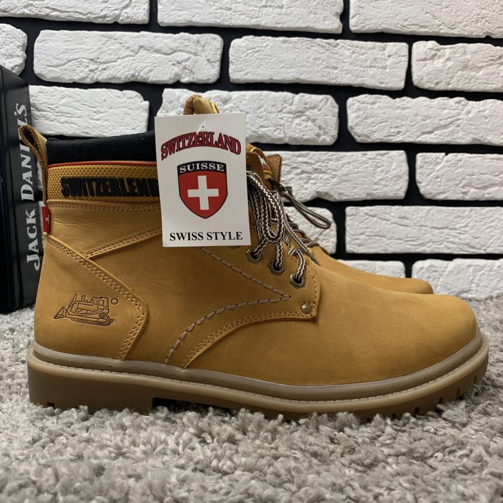 Мужские ботинки зимние - Зимние ботинки (на меху) мужские Switzerland  13032 ⏩ [ 41,43,45 ]