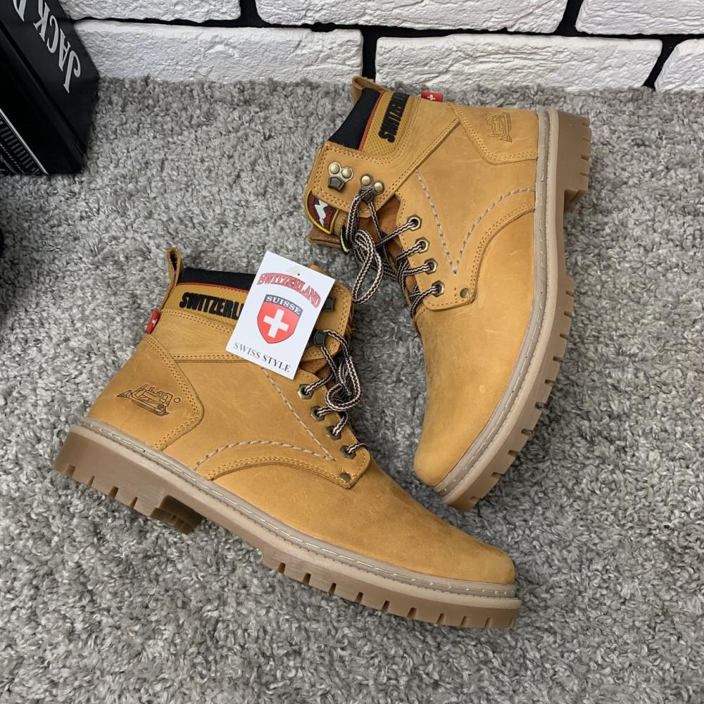 Мужские ботинки зимние - Зимние ботинки (на меху) мужские Switzerland  13032 ⏩ [ 41,43,45 ] 2