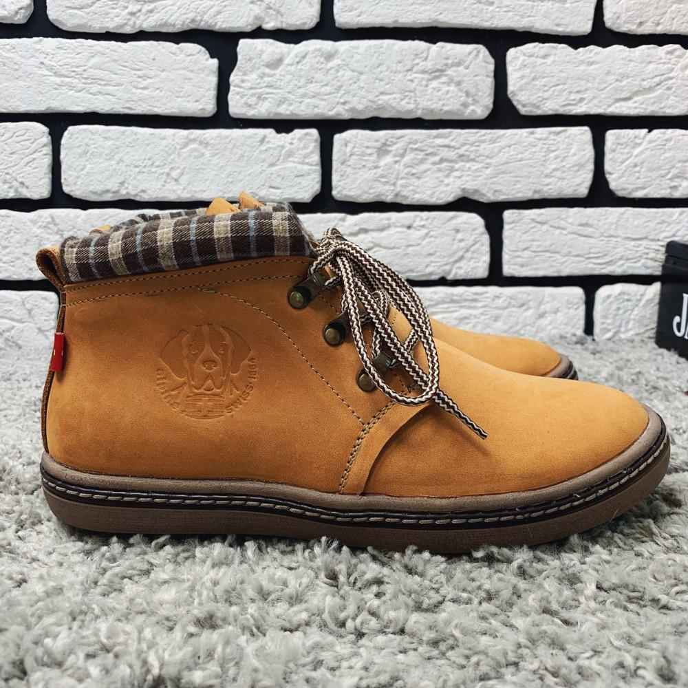Мужские ботинки зимние - Зимние ботинки (на меху) мужские Switzerland 13035 ⏩ [41,42,43,44,45]