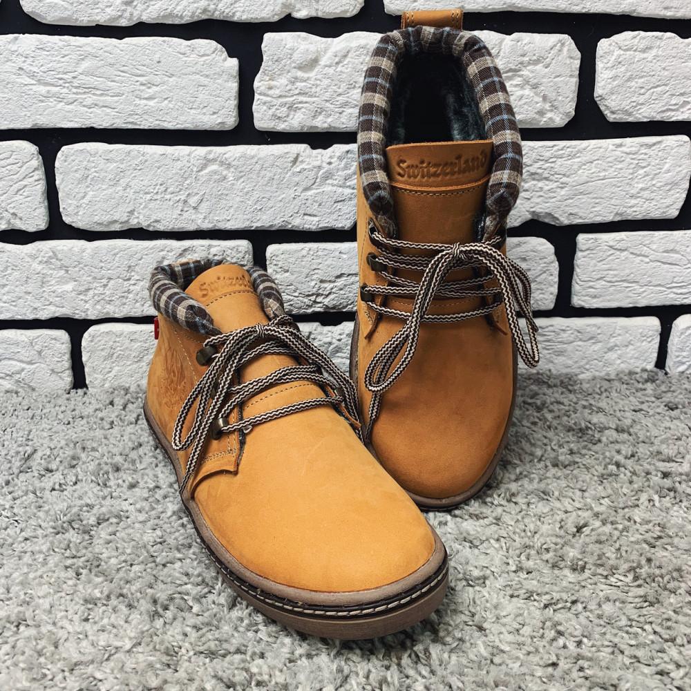 Мужские ботинки зимние - Зимние ботинки (на меху) мужские Switzerland 13035 ⏩ [41,42,43,44,45] 4