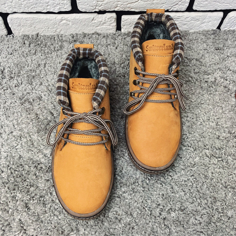Мужские ботинки зимние - Зимние ботинки (на меху) мужские Switzerland 13035 ⏩ [41,42,43,44,45] 2