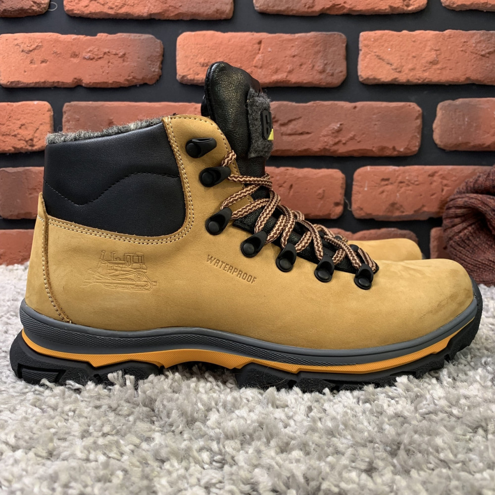 Мужские ботинки зимние - Зимние ботинки (на меху) мужские CAT 13039 ⏩ [ 43,44,45 ]
