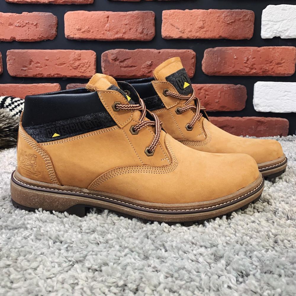 Мужские ботинки зимние - Зимние ботинки (на меху) мужские CAT 13041 ⏩ [ 41,42,43,45 ]
