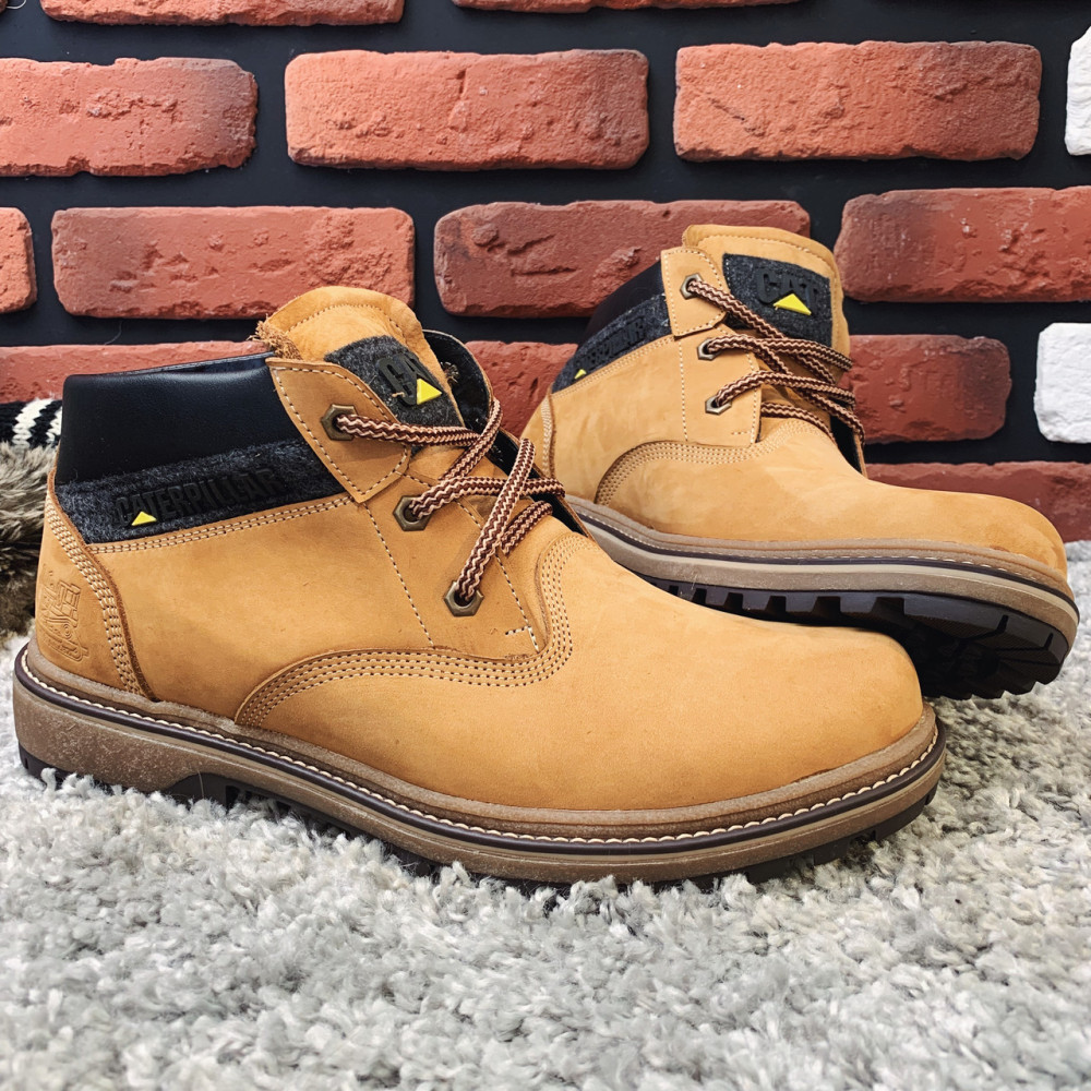 Мужские ботинки зимние - Зимние ботинки (на меху) мужские CAT 13041 ⏩ [ 41,42,43,45 ] 4