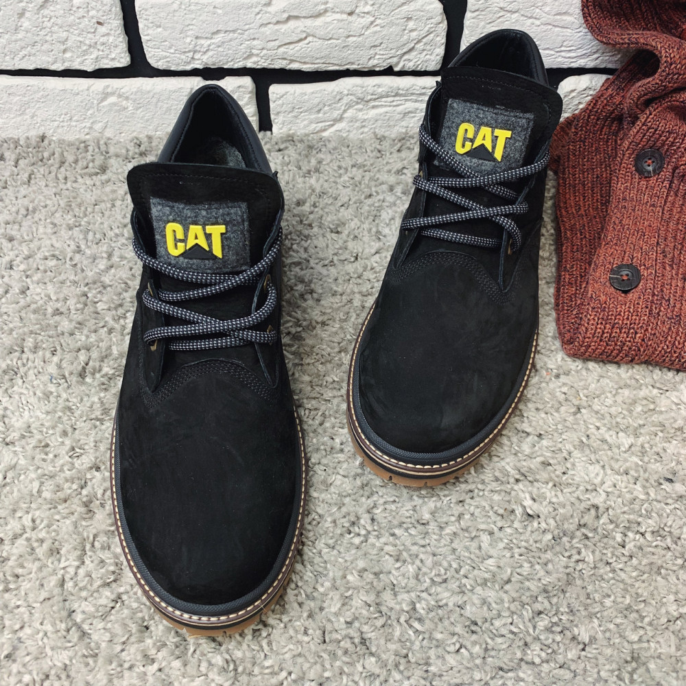 Мужские ботинки зимние - Зимние ботинки (на меху) мужские CAT  13044 ⏩ [ 43,44 ] 1