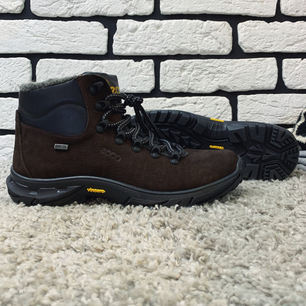 Мужские ботинки зимние - Зимние ботинки (на меху) мужские ECCO 13045 ⏩ [ 41,42,43,44,45 ] 7