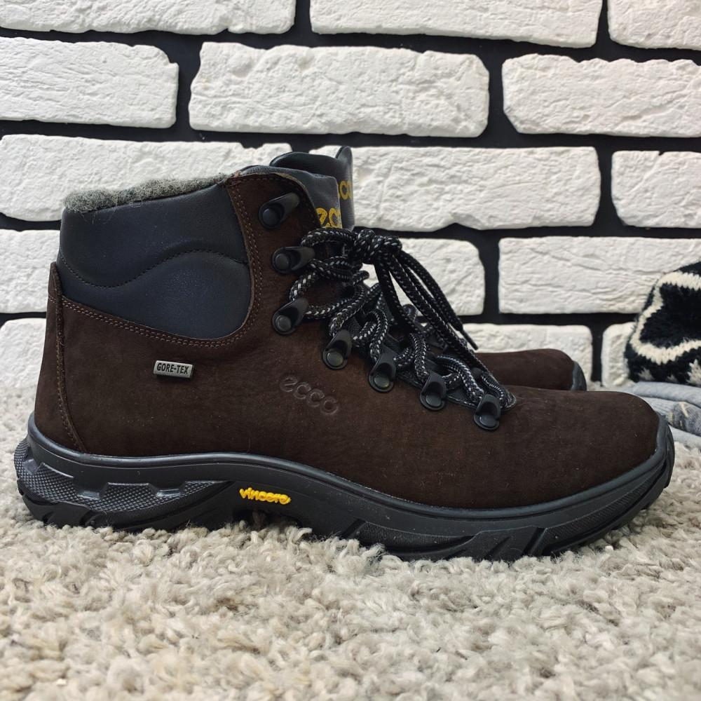 Мужские ботинки зимние - Зимние ботинки (на меху) мужские ECCO 13045 ⏩ [ 41,42,43,44,45 ]