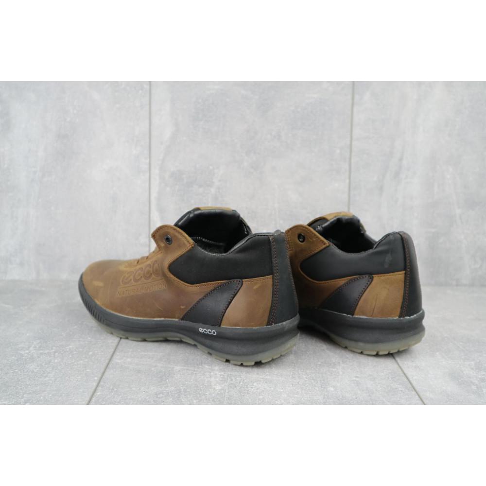 Зимние кроссовки мужские - Мужские кроссовки кожаные зимние черные CrosSAV 38 4