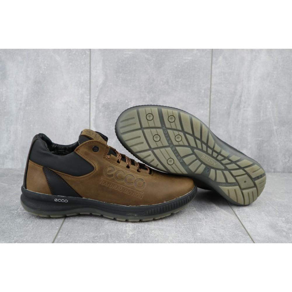 Зимние кроссовки мужские - Мужские кроссовки кожаные зимние черные CrosSAV 38 2