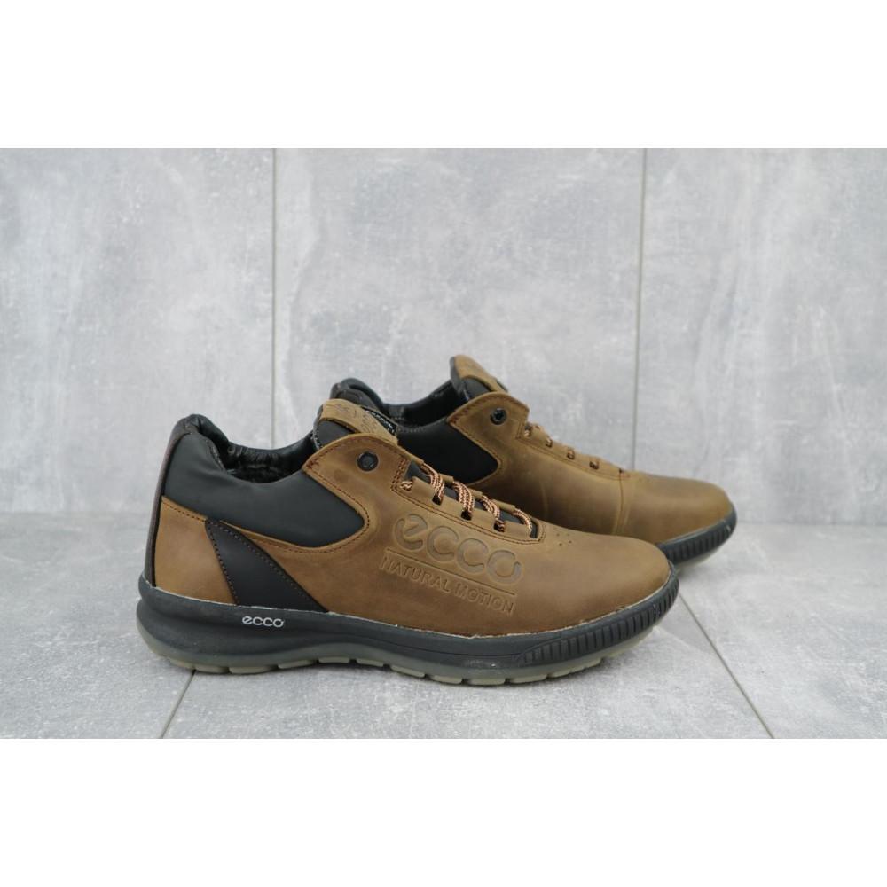 Зимние кроссовки мужские - Мужские кроссовки кожаные зимние черные CrosSAV 38 1