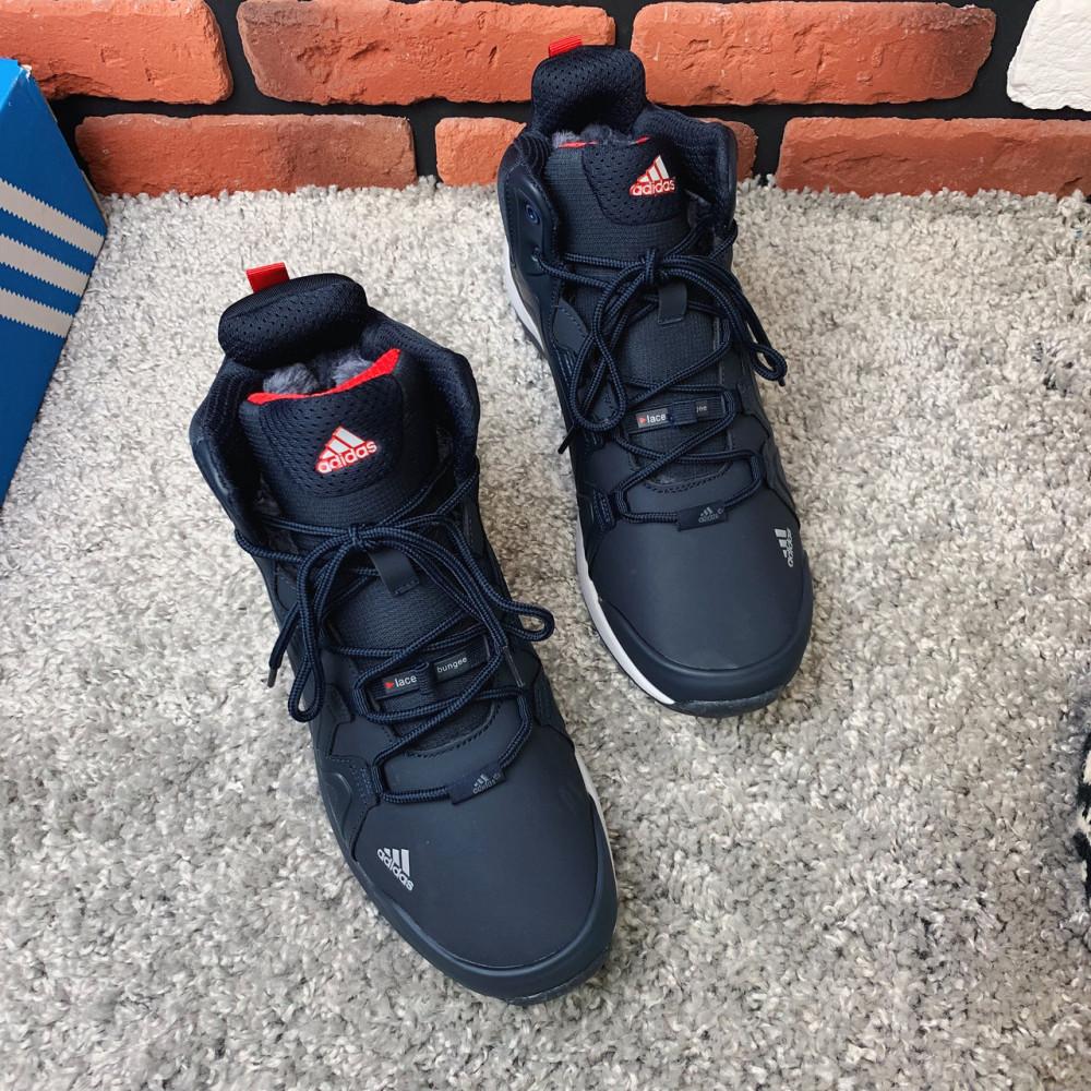 Мужские ботинки зимние - Зимние ботинки (на меху) мужские Adidas TERREX 3-082 ⏩ [ 44 последний размер] 1