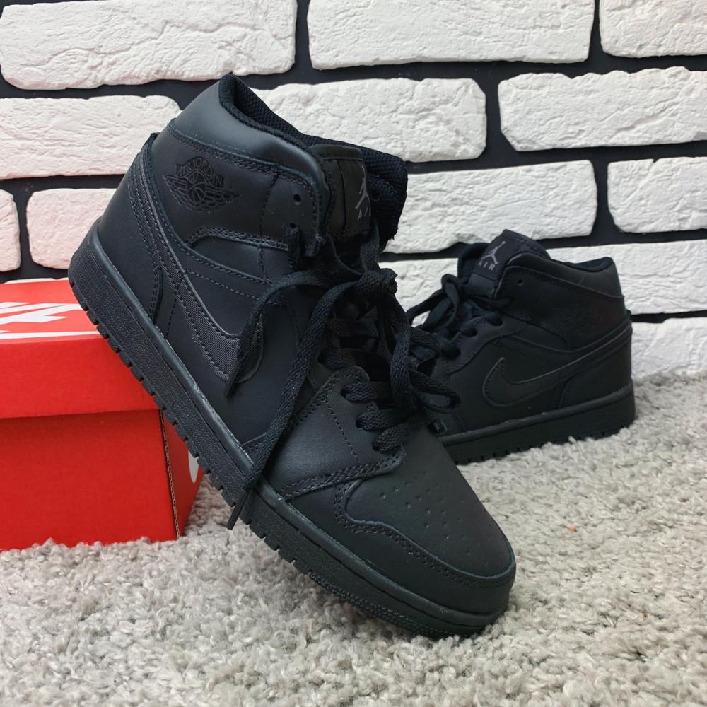 Зимние кроссовки мужские - Зимние кроссовки (на меху) мужские Nike Air Jordan  1-067 ⏩ [ 41,46 ] 5