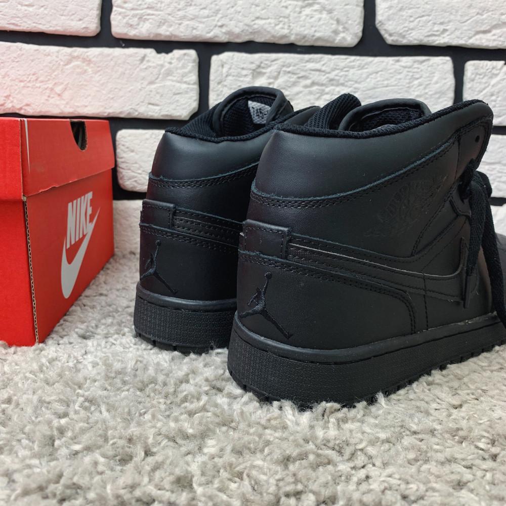 Зимние кроссовки мужские - Зимние кроссовки (на меху) мужские Nike Air Jordan  1-067 ⏩ [ 41,46 ] 4