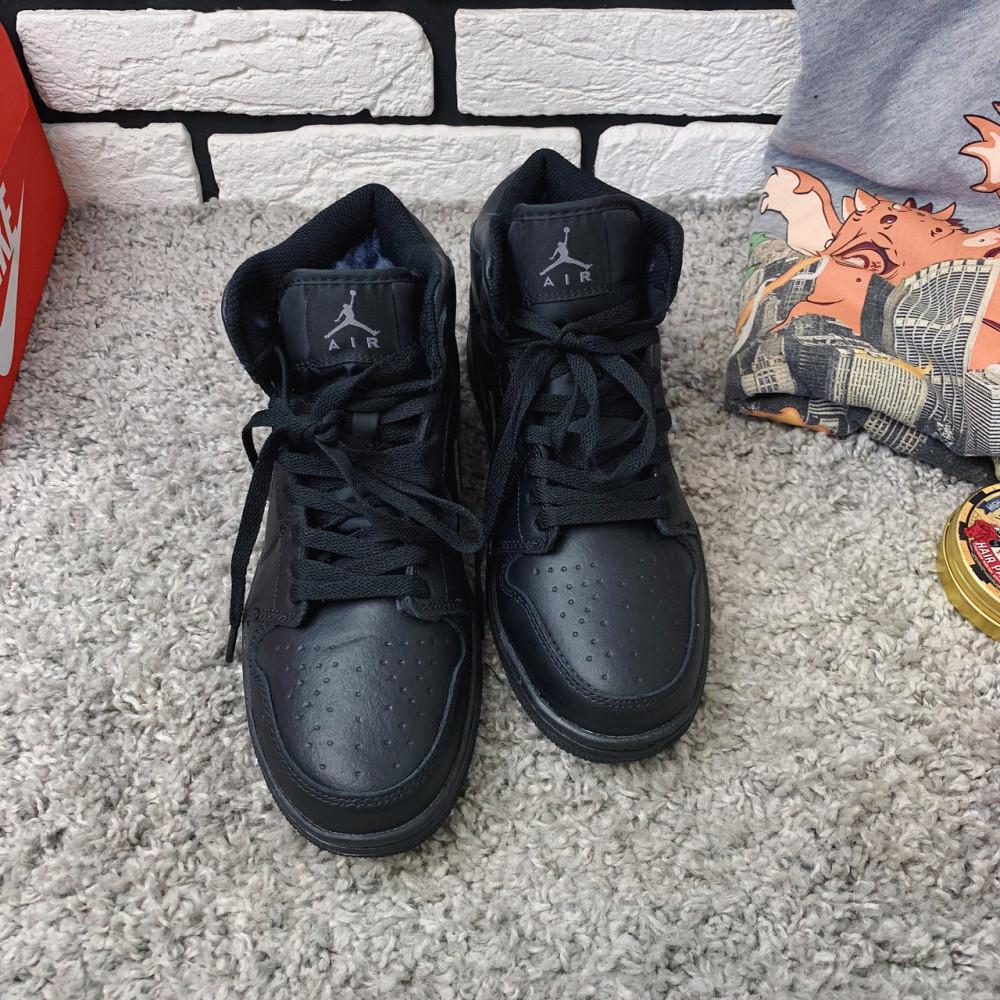 Зимние кроссовки мужские - Зимние кроссовки (на меху) мужские Nike Air Jordan  1-067 ⏩ [ 41,46 ] 1