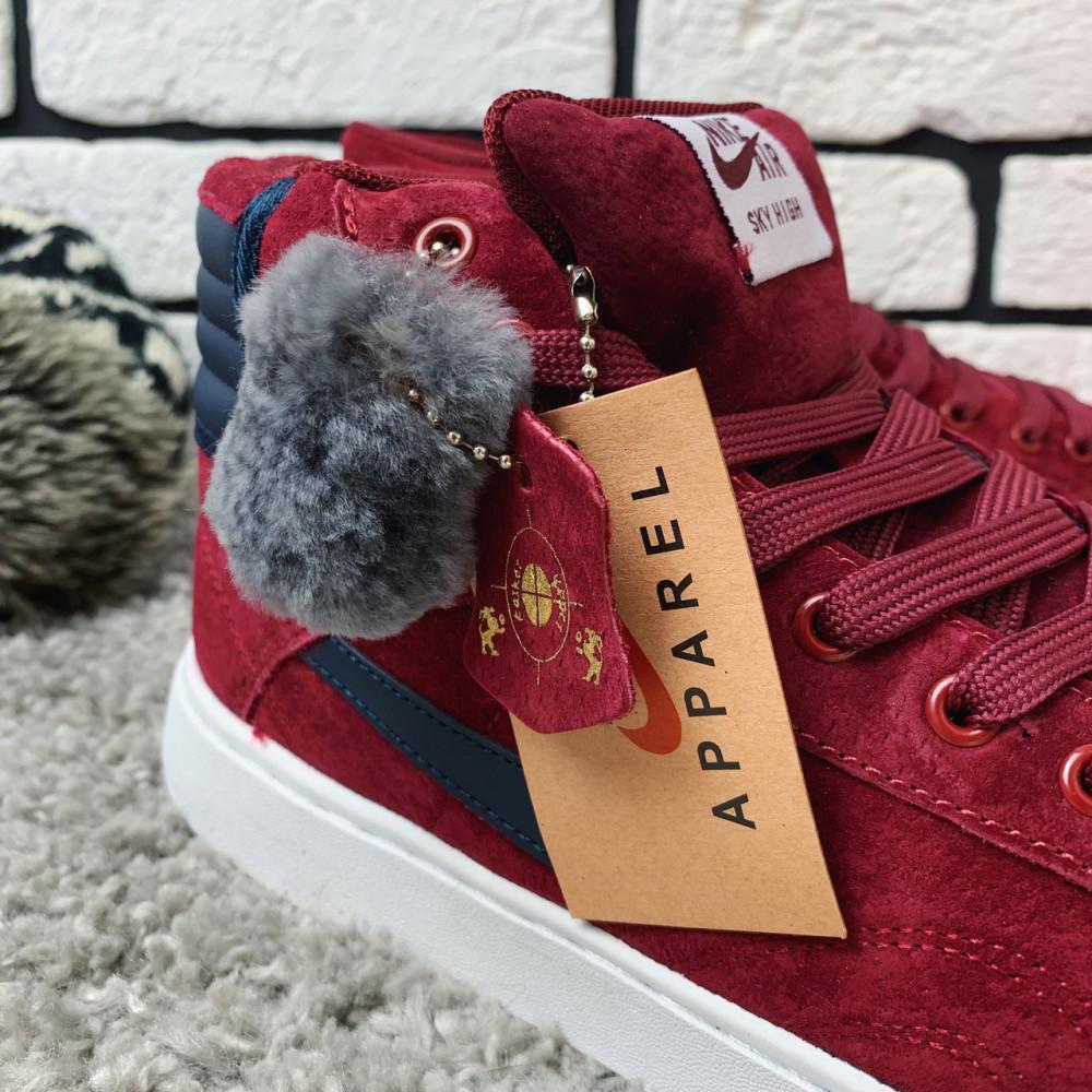 Зимние кроссовки мужские - Зимние кроссовки (НА МЕХУ) мужские Nike Air Jordan  1-092 ⏩ [ 41,42 ] 7