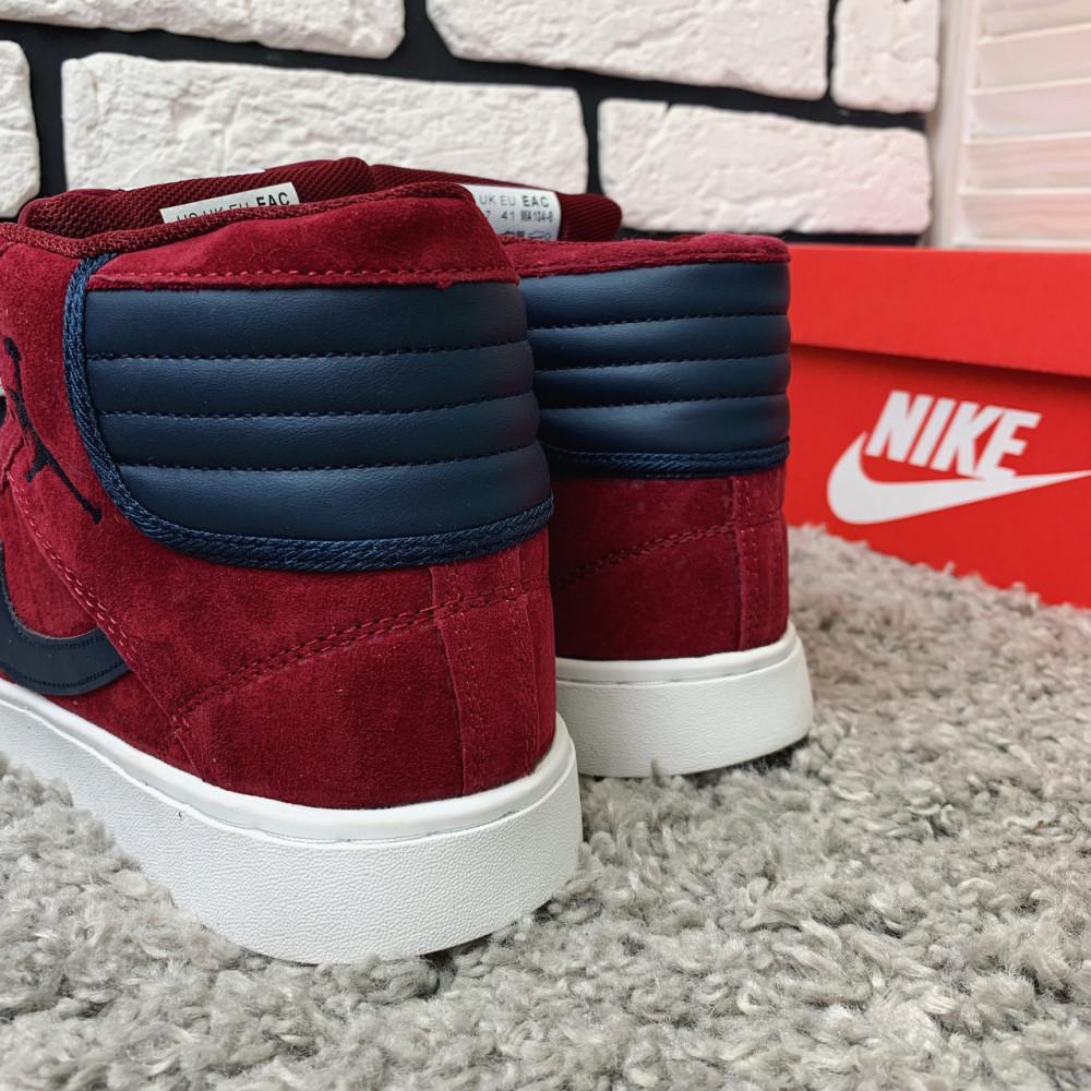 Зимние кроссовки мужские - Зимние кроссовки (НА МЕХУ) мужские Nike Air Jordan  1-092 ⏩ [ 41,42 ] 6