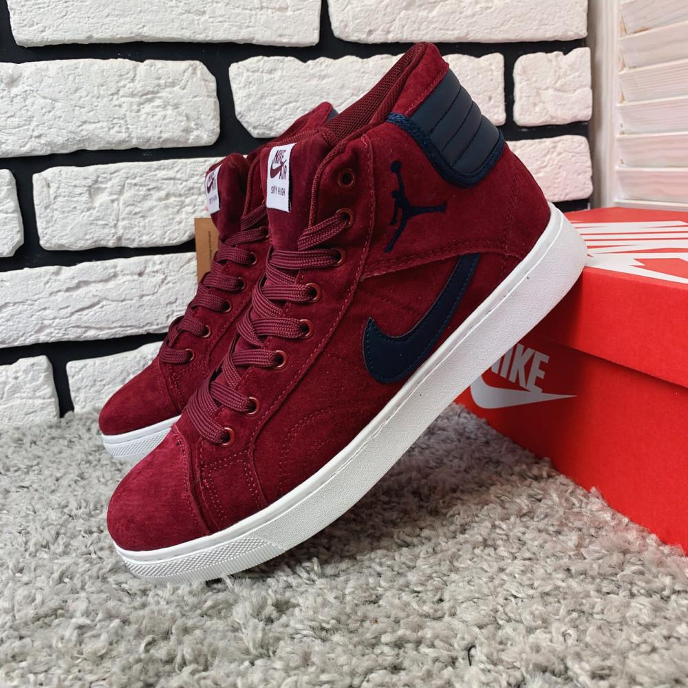 Зимние кроссовки мужские - Зимние кроссовки (НА МЕХУ) мужские Nike Air Jordan  1-092 ⏩ [ 41,42 ] 3