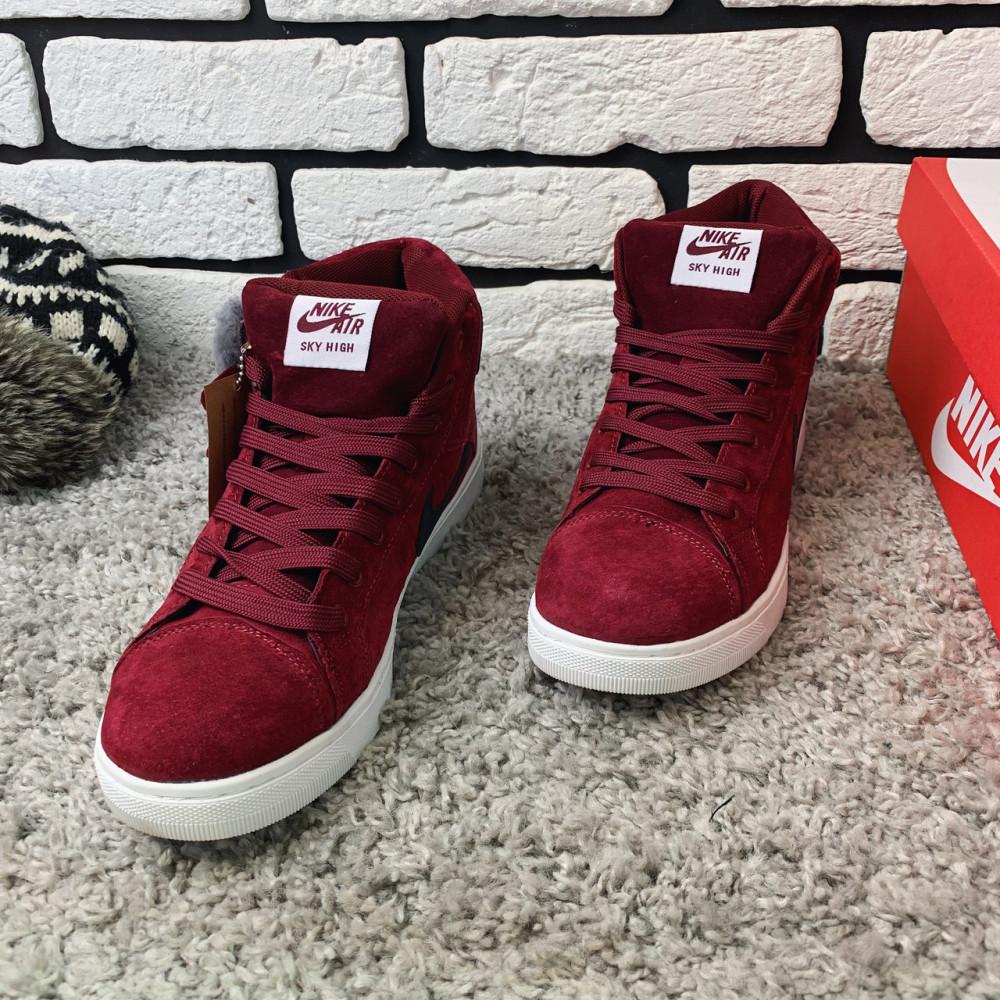 Зимние кроссовки мужские - Зимние кроссовки (НА МЕХУ) мужские Nike Air Jordan  1-092 ⏩ [ 41,42 ] 2