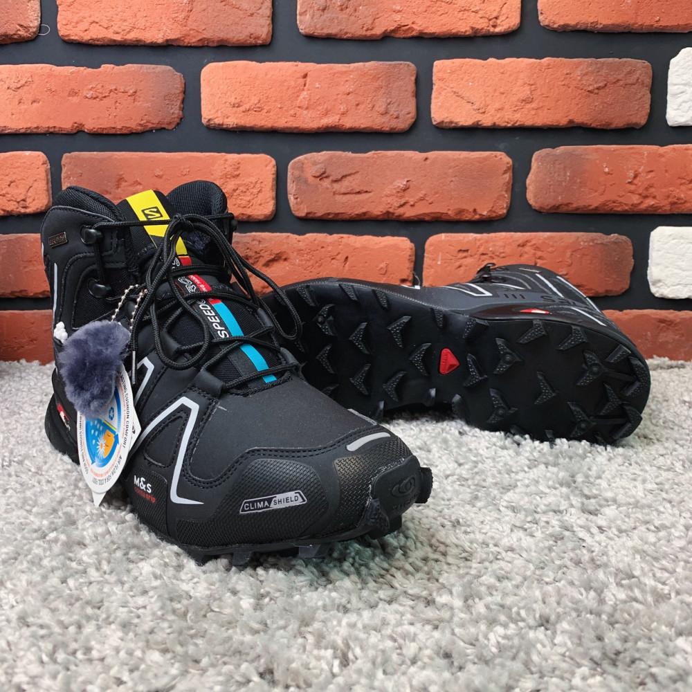 Мужские ботинки зимние - Зимние ботинки  (на меху)  мужские Salomon Speedcross 3  6-032 ⏩ [ 41] 6
