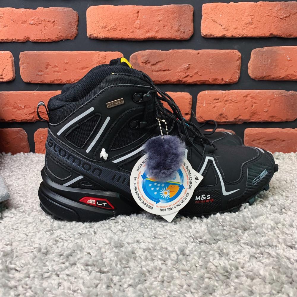 Мужские ботинки зимние - Зимние ботинки  (на меху)  мужские Salomon Speedcross 3  6-032 ⏩ [ 41]