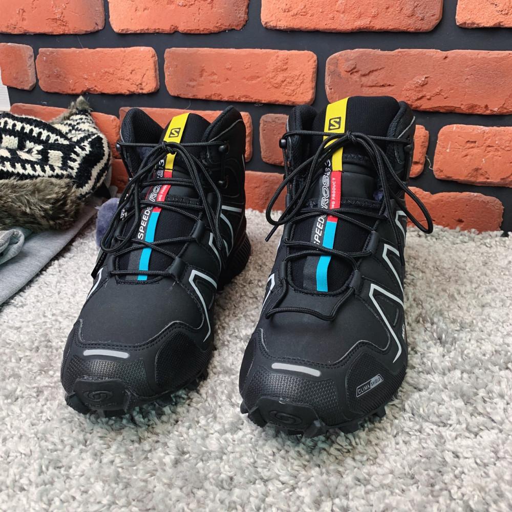 Мужские ботинки зимние - Зимние ботинки  (на меху)  мужские Salomon Speedcross 3  6-032 ⏩ [ 41] 4