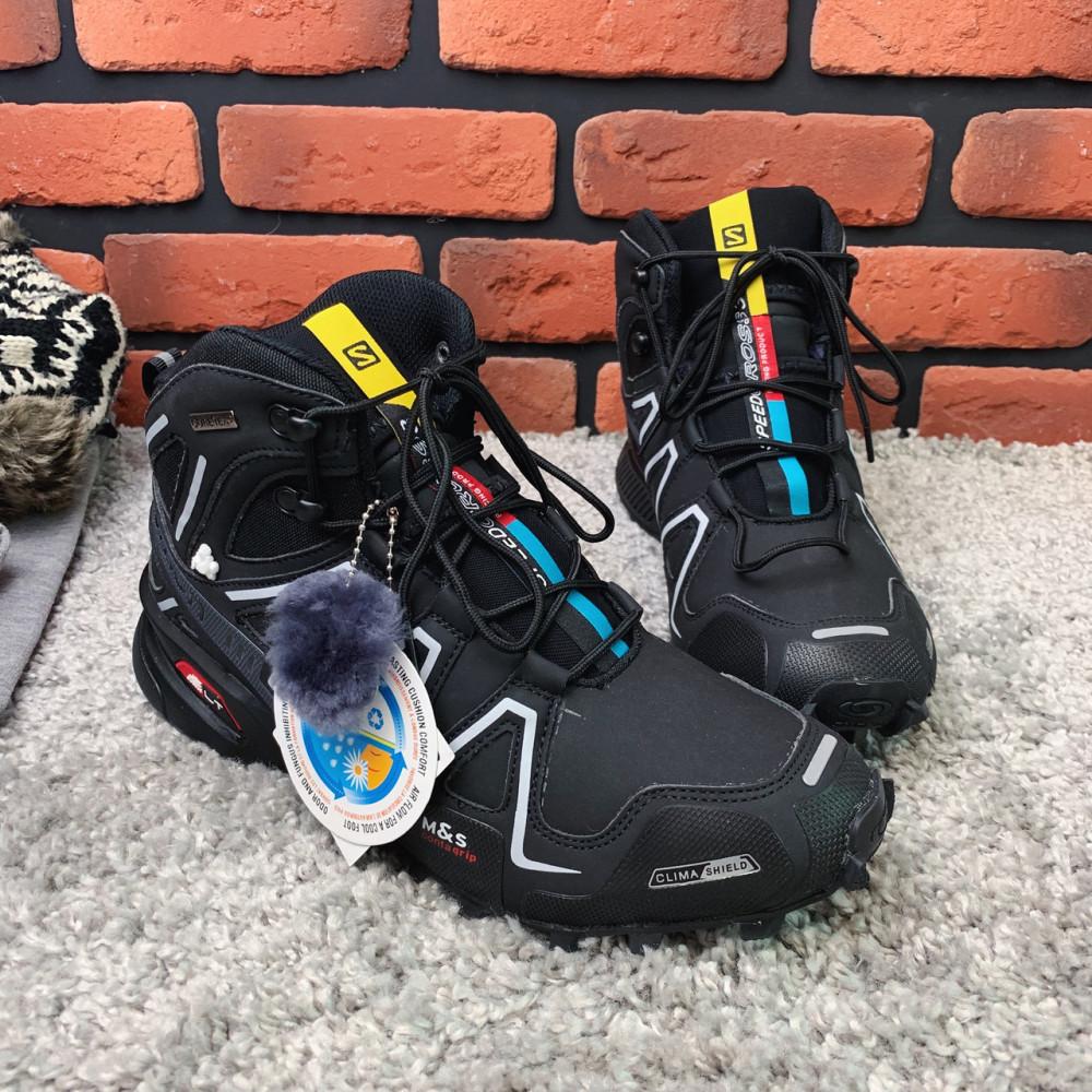 Мужские ботинки зимние - Зимние ботинки  (на меху)  мужские Salomon Speedcross 3  6-032 ⏩ [ 41] 3