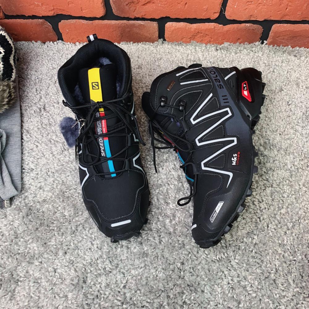 Мужские ботинки зимние - Зимние ботинки  (на меху)  мужские Salomon Speedcross 3  6-032 ⏩ [ 41] 2